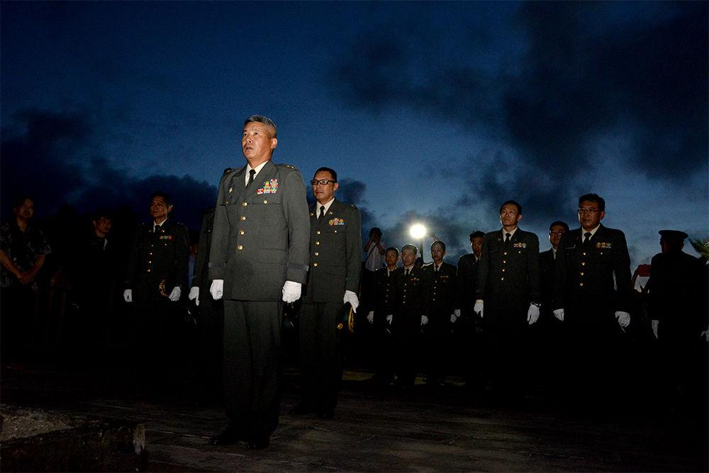 Yahoo!ニュース特集「自衛隊は夜明け前に 沖縄慰霊の日 さまざまな慰霊」公開