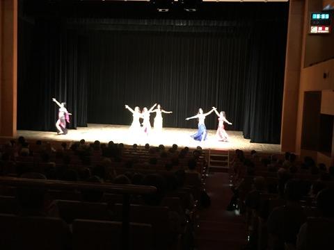華やかなベリーダンスショー