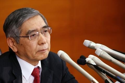 黒田総裁・記者会見1