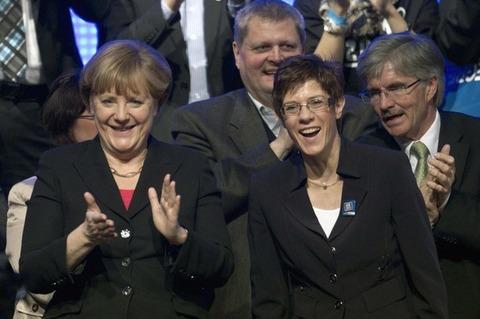 メルケル首相_ザールラント州議会選挙