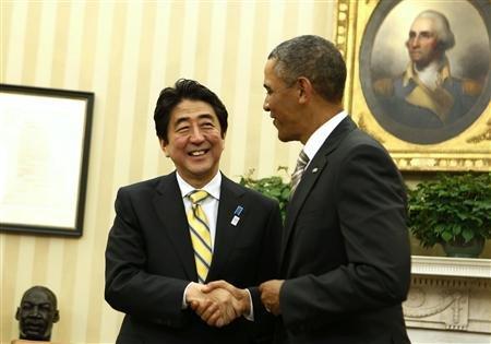 安倍首相_オバマ大統領