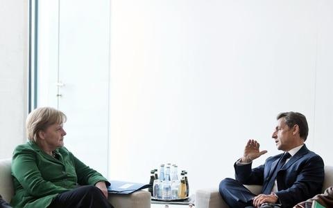 メルケル首相_サルコジ大統領