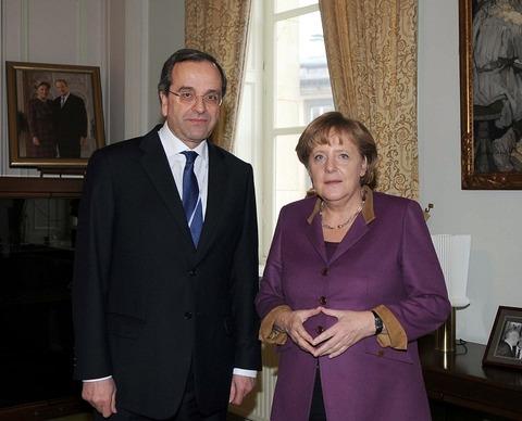 メルケル首相_サマラス首相