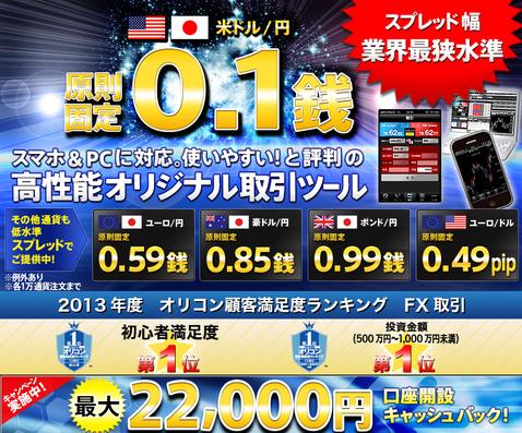 sbifxトレード22000円高額キャッシュバック2
