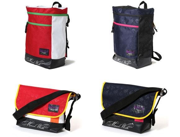 RADIO EVA×beruf baggage メッセンジャーバッグ・デイパックに新モデル「2号機」「Mark.06」が登場