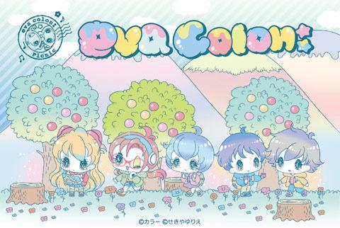 池袋エヴァストア「eva colon:(エヴァコロン)」ピクニックシリーズの缶バッジ・クリアファイルを発売