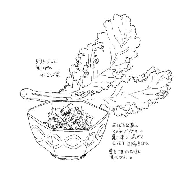 京野菜(食べ物エッセイ『くいいじ』より)