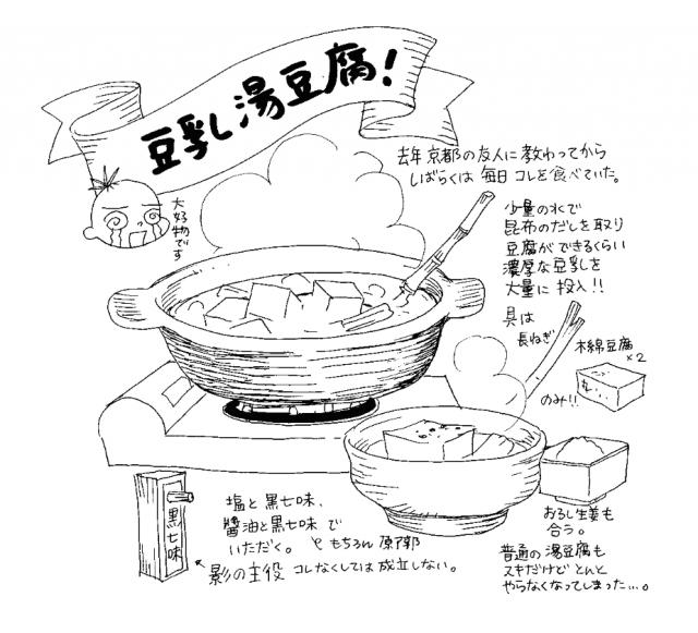 鍋(食べ物エッセイ『くいいじ』より)
