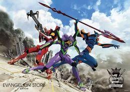 11月1日(木)よりEVANGELION STORE TOKYO-01 7周年記念フェア開催