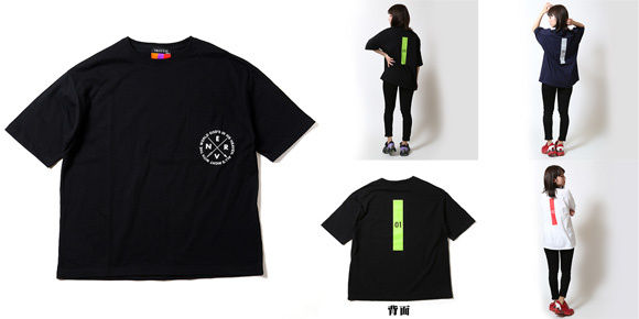 RADIO EVAより「初号機」「アスカ」「カヲル」キーカラープリントのナンバリング入りTシャツが登場