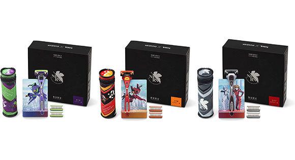「Schick×EVANGELION」コラボカミソリ「初号機」「2号機」「NERV」モデルが登場 Amazon限定パッケージも発売