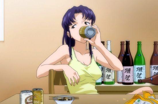 ★エヴァ新幹線でミサトさんの愛飲する日本酒「獺祭(だっさい)」発売!