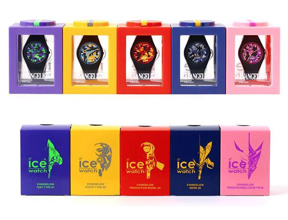 エヴァンゲリオンと「ICE-WATCH(アイスウォッチ)」のコラボレーション腕時計が登場