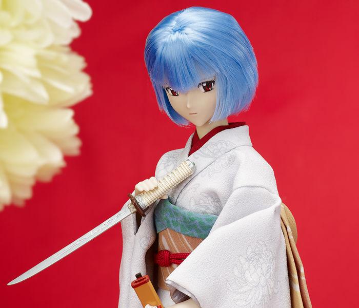 タカラトミーの和ドール「綾波レイと日本刀」が予約開始!