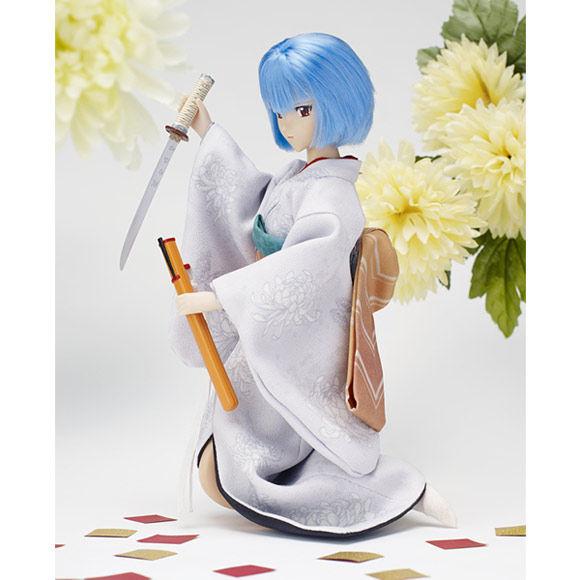 エヴァ究極の和ドール第3弾「綾波レイと日本刀」予約受付開始 早期予約で描き下ろしイラストのクリアファイルプレゼント