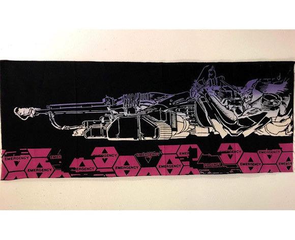【RumiRockxエヴァ】ヤシマ作戦 「初号機ポジトロンライフル」デザインの手ぬぐいが登場
