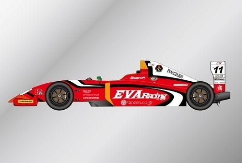 エヴァレーシングがフォーミラに!「エヴァRT弐号機Rn-s」FIA-F4選手権に参戦