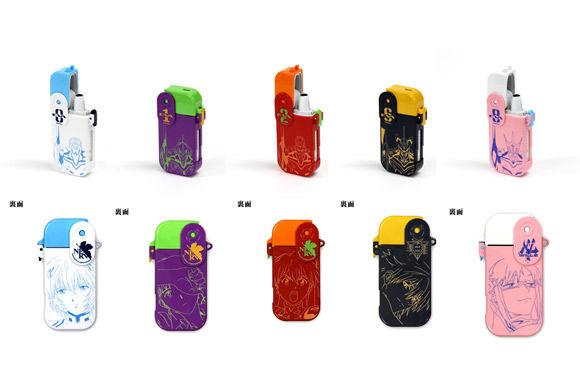 ヱヴァンゲリヲン新劇場版 iQOSロックハードケース「レイ」「シンジ」「アスカ」「カヲル」「マリ」モデルが登場