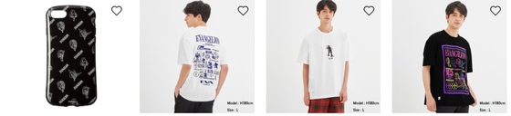 GUオンライン、ユニクロオンラインでエヴァTシャツがセール中。