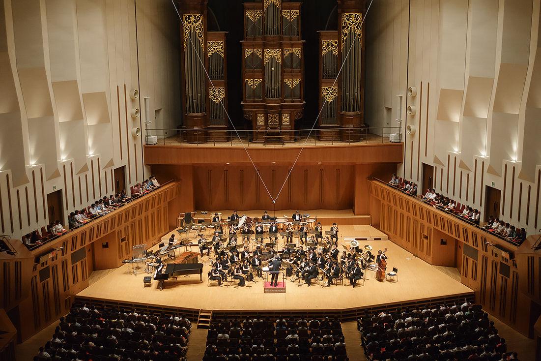 エヴァ初の吹奏楽コンサート「ウインドシンフォニー」が開催、サプライズゲストに樋口真嗣も