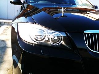 iPhoneカメラにて撮影BMW E91 335ツーリング