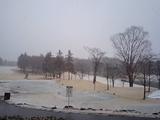 雪 ゴルフ場