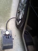 BMW E91 リア空気圧