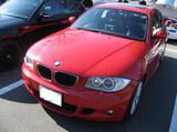 E87 ジャパンレッド BMW1er