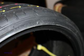 タイヤ製造年月09年29週