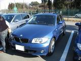 E87 シドニーブルー BMW1シリーズ
