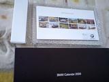 2009BMW卓上カレンダー