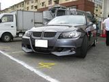 BMW E91 ACシュニッツァー フロントリップスポイラー