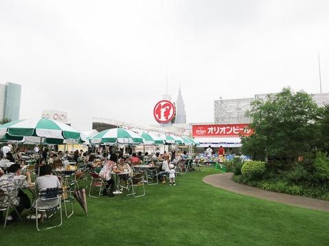 沖縄風ビアガーデン