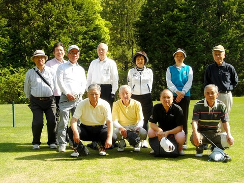 2018年4月ゴルフ