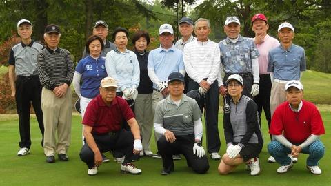 2017春ゴルフ集合