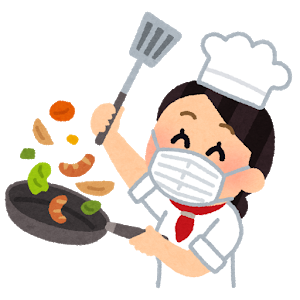 cooking_chef_woman_asia_mask