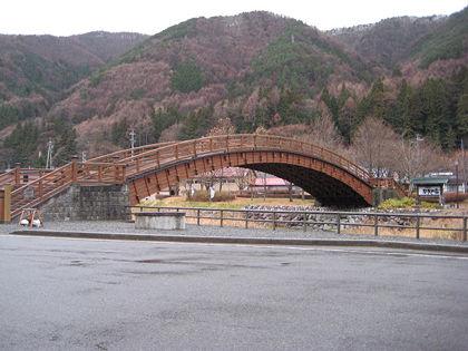 1128ドライブ奈良井木曽の大橋(長野県)