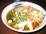 4/4昼食山菜そば500円