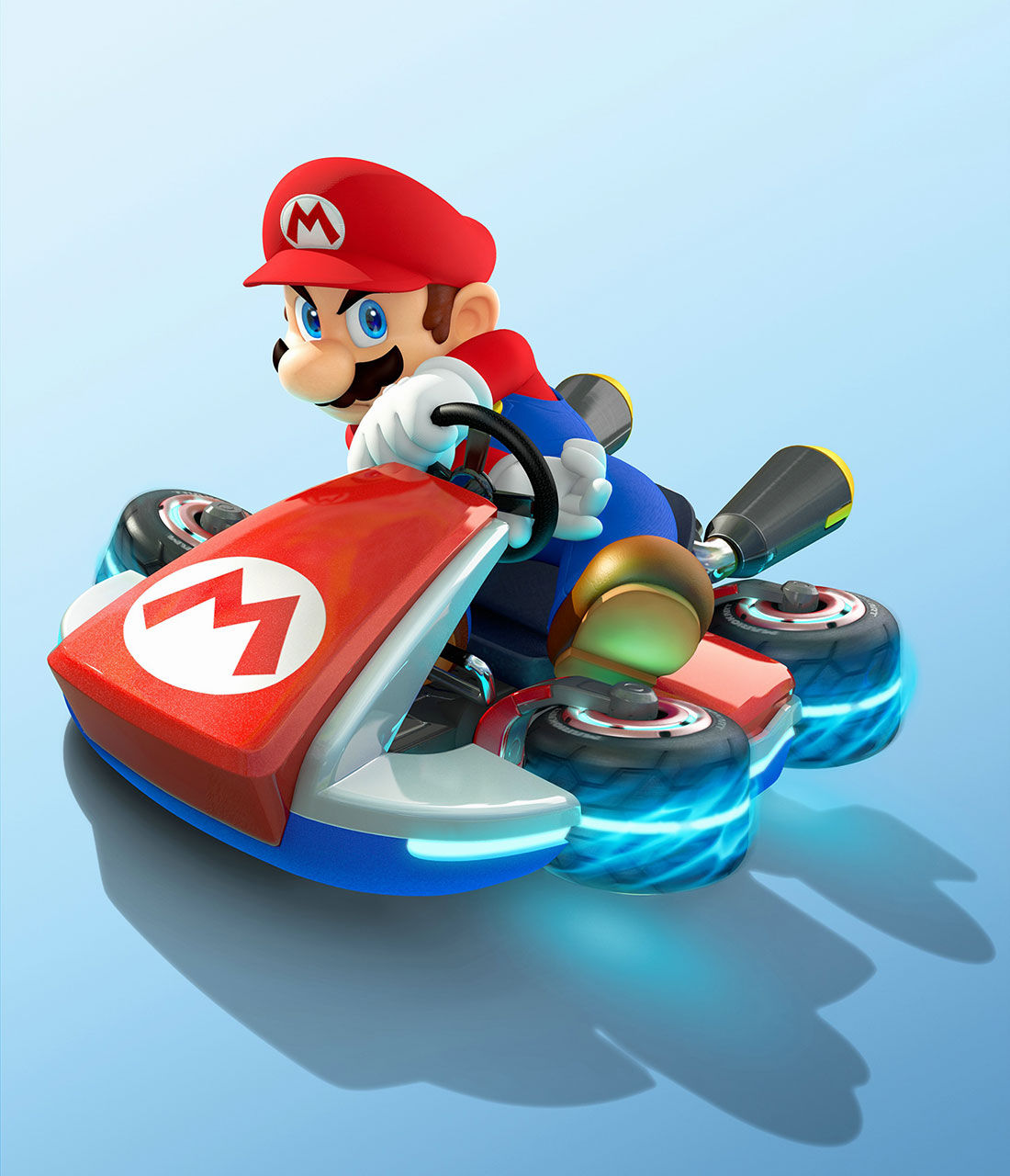 8 for Coupe miroir mario kart wii