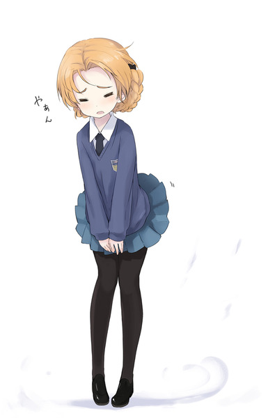オレンジペコ制服-20