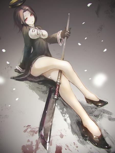 龍田と薙刀-23