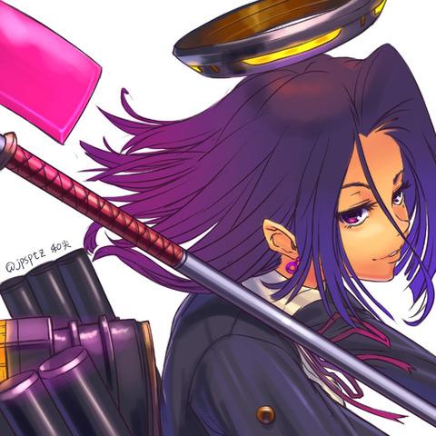 龍田と薙刀-33