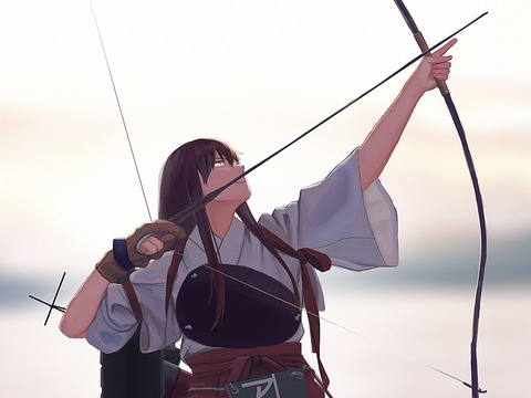 赤城と弓-48