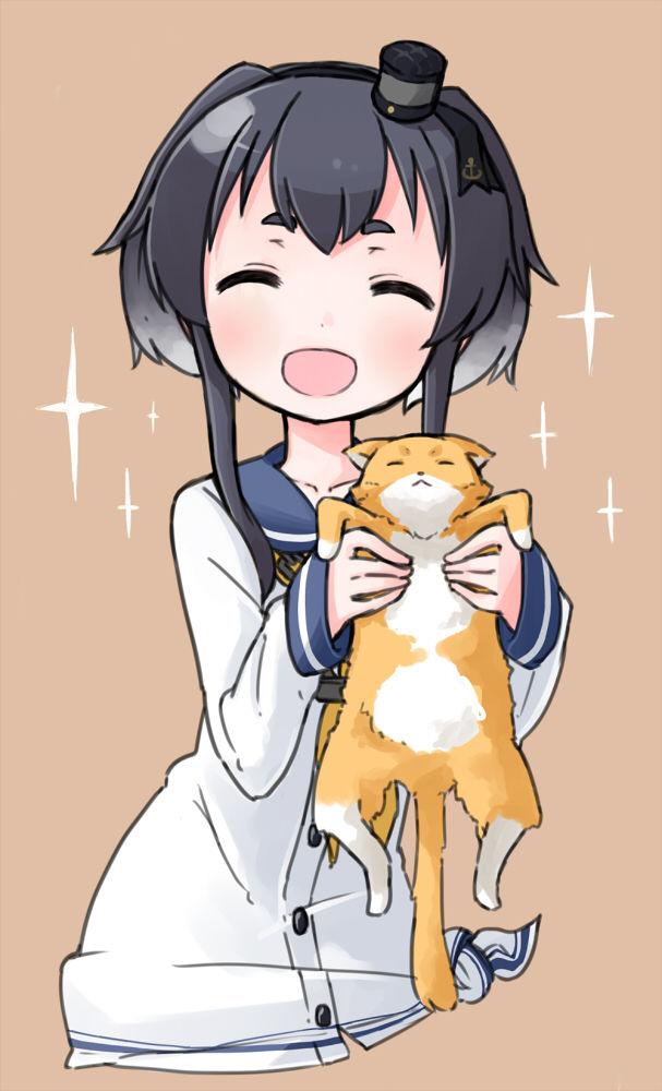 [艦これ]時津風と猫の画像