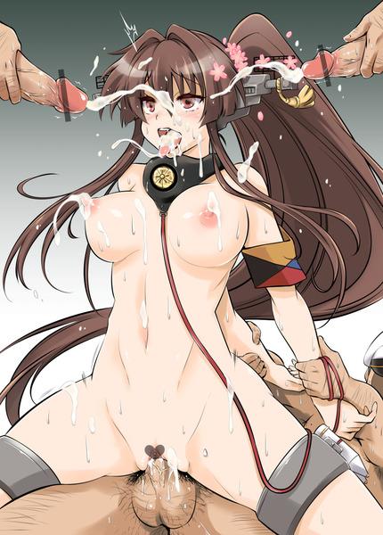 艦これ顔射-07