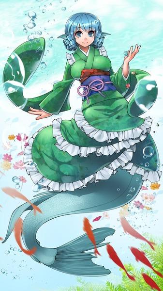 わかさぎ姫と魚-50
