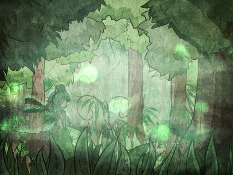 鍵山雛と森-16