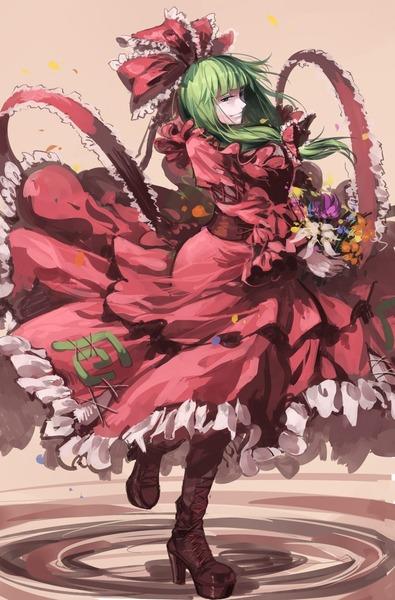 鍵山雛と花-46