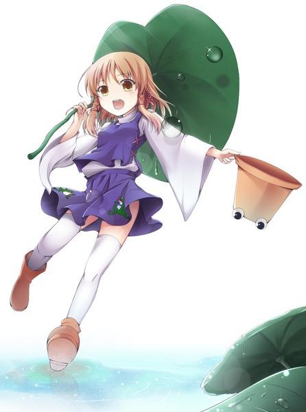 洩矢諏訪子と葉っぱ傘-10