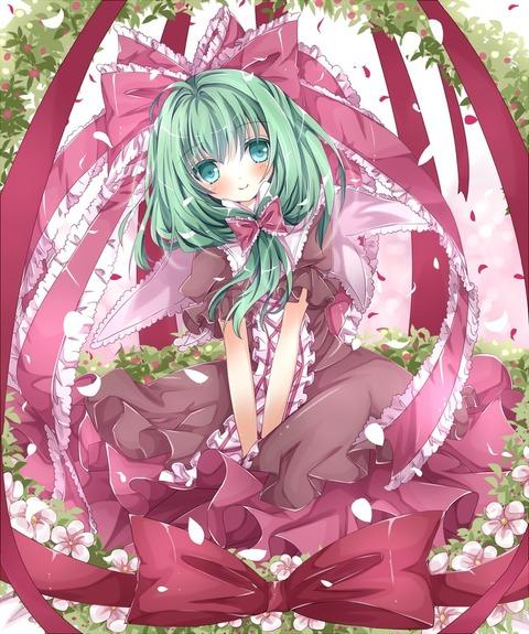 鍵山雛と花-08
